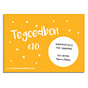 Cadeaubon DesignClaudShop 10 euro - Per post