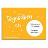 Cadeaubon DesignClaudShop 25 euro - Per post