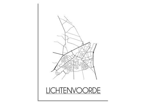 DesignClaud Lichtenvoorde Plattegrond poster