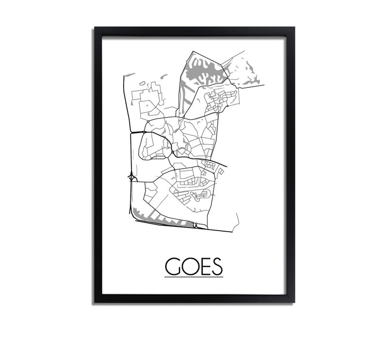 Goes Plattegrond poster