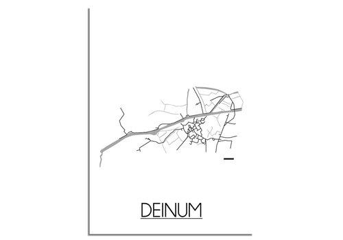 DesignClaud Deinum Plattegrond poster