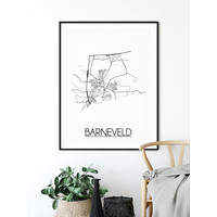 Barneveld Plattegrond poster