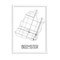 De Beemster Plattegrond poster