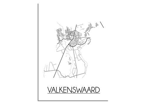 DesignClaud Valkenswaard Plattegrond poster