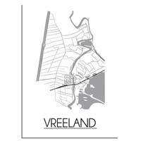 Vreeland Plattegrond poster