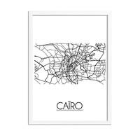 Caïro Stadtplan-poster