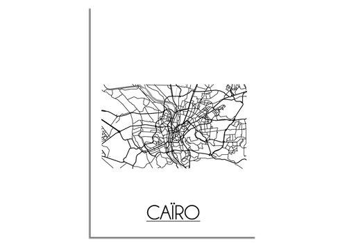 DesignClaud Caïro Stadtplan-poster