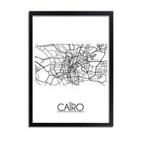 Caïro Plattegrond poster