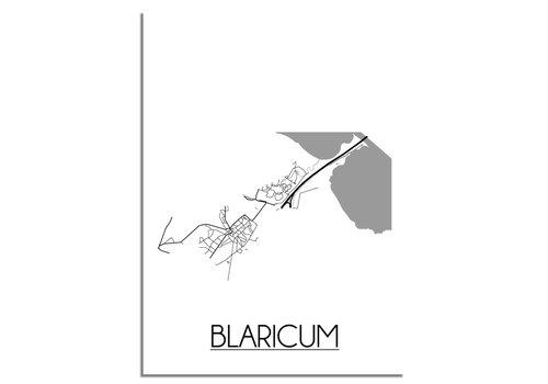 DesignClaud Blaricum Plattegrond poster
