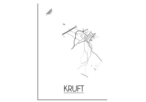 DesignClaud Kruft Plattegrond poster