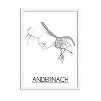 Andernach Plattegrond poster