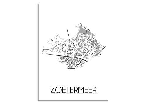 DesignClaud Zoetermeer Plattegrond poster
