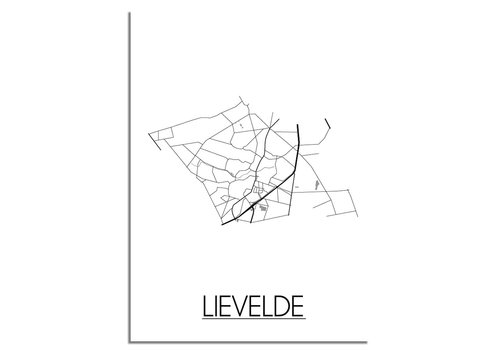 DesignClaud Lievelde Plattegrond poster