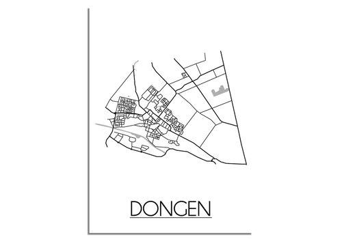 DesignClaud Dongen Plattegrond poster