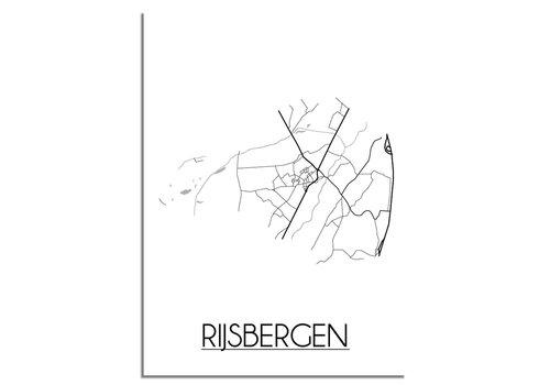 DesignClaud Rijsbergen Plattegrond poster