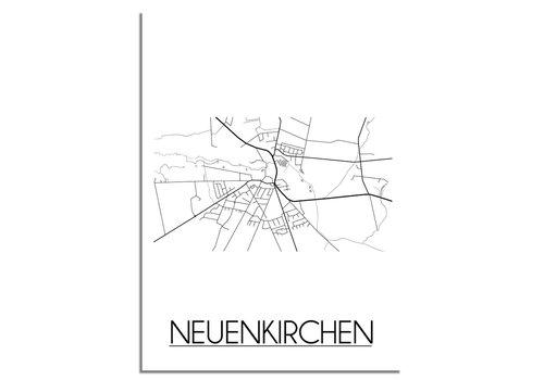 DesignClaud Neuenkirchen Plattegrond poster