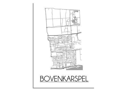 DesignClaud Bovenkarspel Plattegrond poster