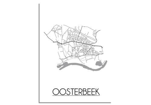 DesignClaud Oosterbeek Plattegrond poster