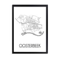 Oosterbeek Plattegrond poster