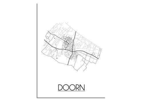 DesignClaud Doorn Plattegrond poster