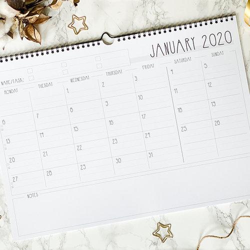 Jaarplanner 2020 a.k.a. onze maandplanner!