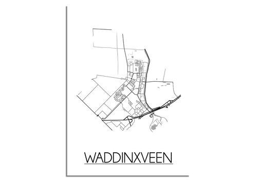 DesignClaud Waddinxveen Plattegrond poster
