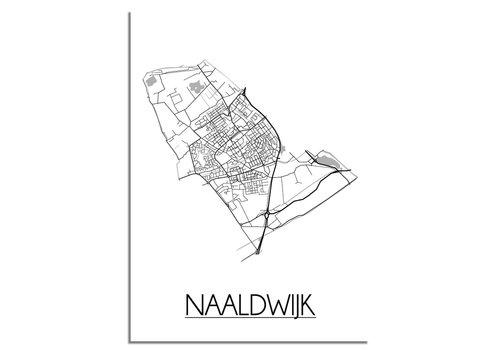 DesignClaud Naaldwijk Plattegrond poster