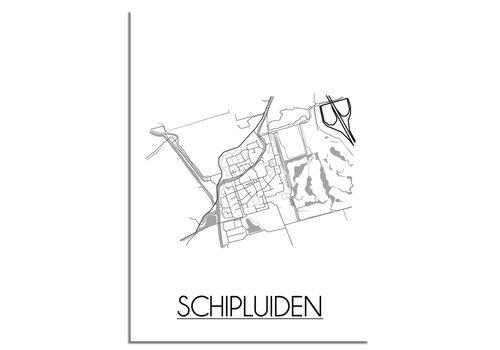 DesignClaud Schipluiden Plattegrond poster