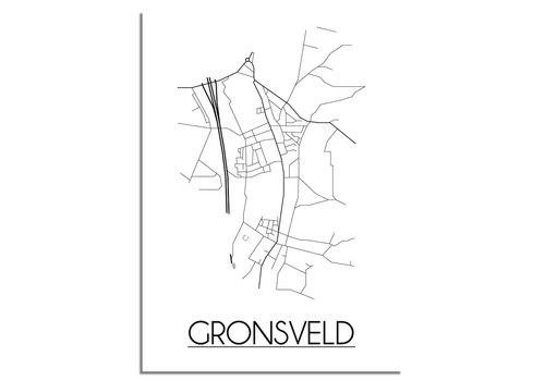 DesignClaud Gronsveld Plattegrond poster