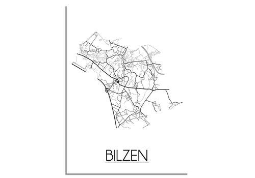 DesignClaud Bilzen Plattegrond poster