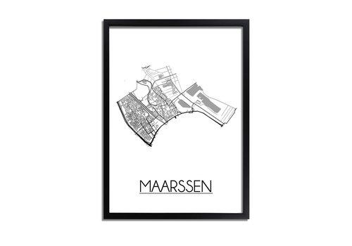 DesignClaud Maarssen Plattegrond poster