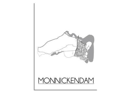 DesignClaud Monnickendam Plattegrond poster
