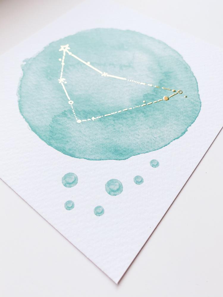 geboorteposter-sterrenbeeld-blauw