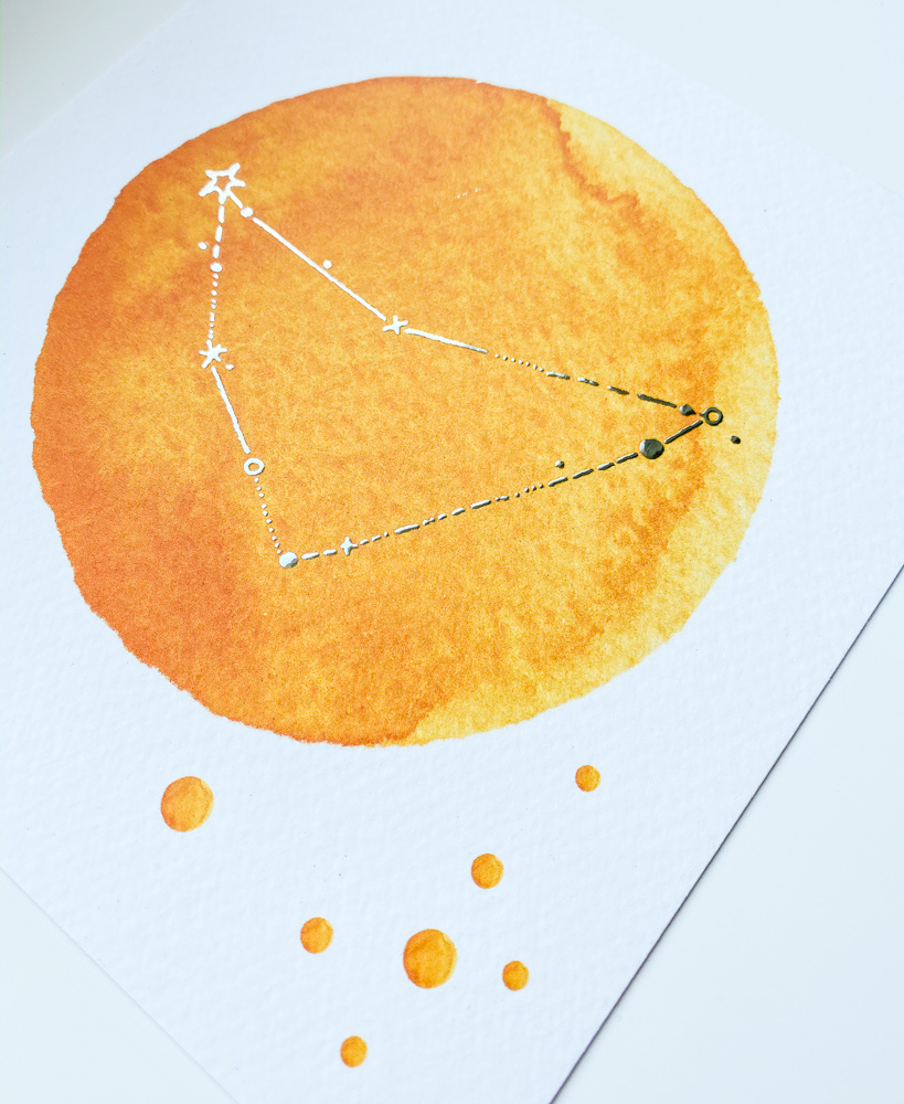 geboorteposter-sterrenbeeld