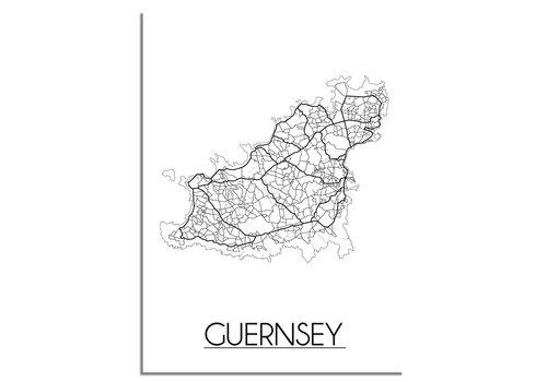 DesignClaud Guersney Plattegrond poster