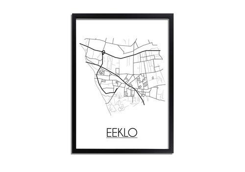 DesignClaud Eeklo Plattegrond poster