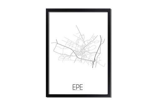 DesignClaud Epe Plattegrond poster