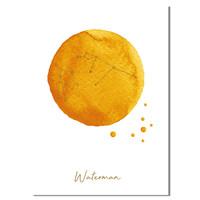 FOLIEDRUK Sterrenbeeld poster Waterman – Geel