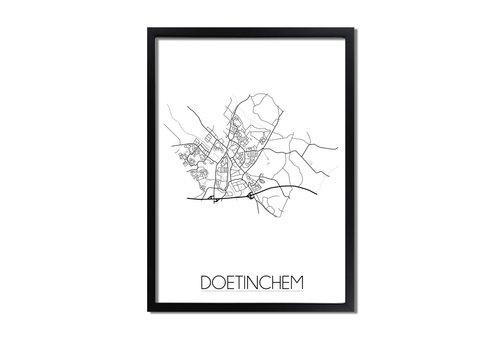 DesignClaud Doetinchem Plattegrond poster