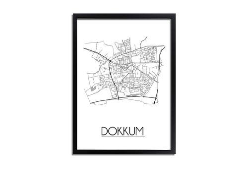 DesignClaud Dokkum Plattegrond poster