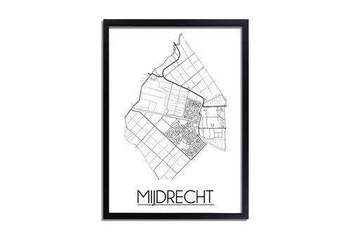 DesignClaud Mijdrecht Plattegrond poster