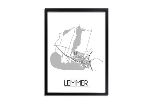 DesignClaud Lemmer Plattegrond poster