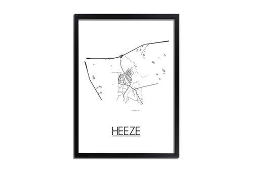 DesignClaud Heeze Plattegrond poster