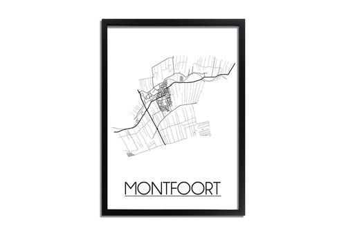 DesignClaud Montfoort Plattegrond poster