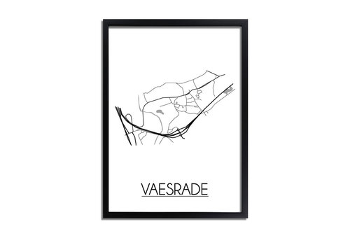 DesignClaud Vaesrade Plattegrond poster