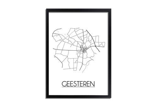 DesignClaud Geesteren Plattegrond poster