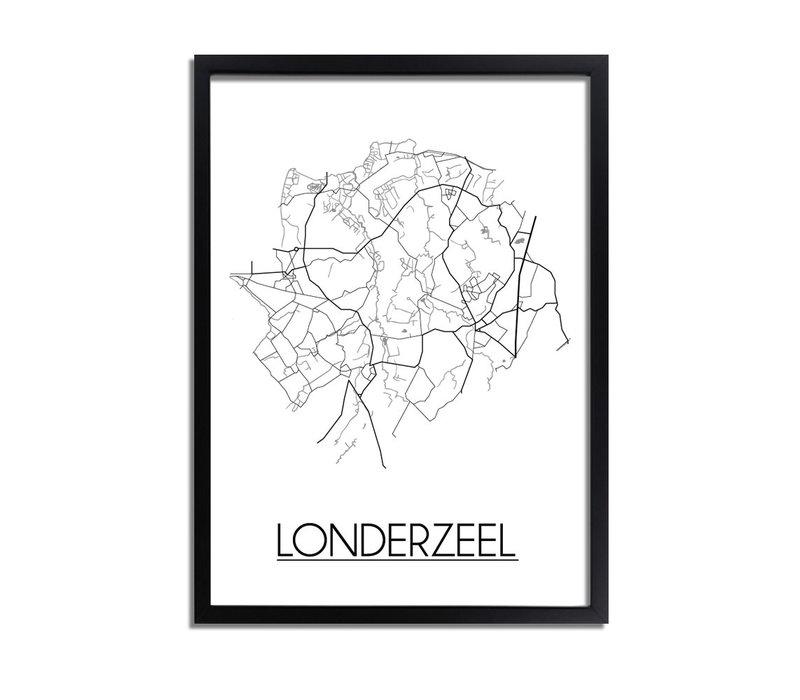 Londerzeel Plattegrond poster