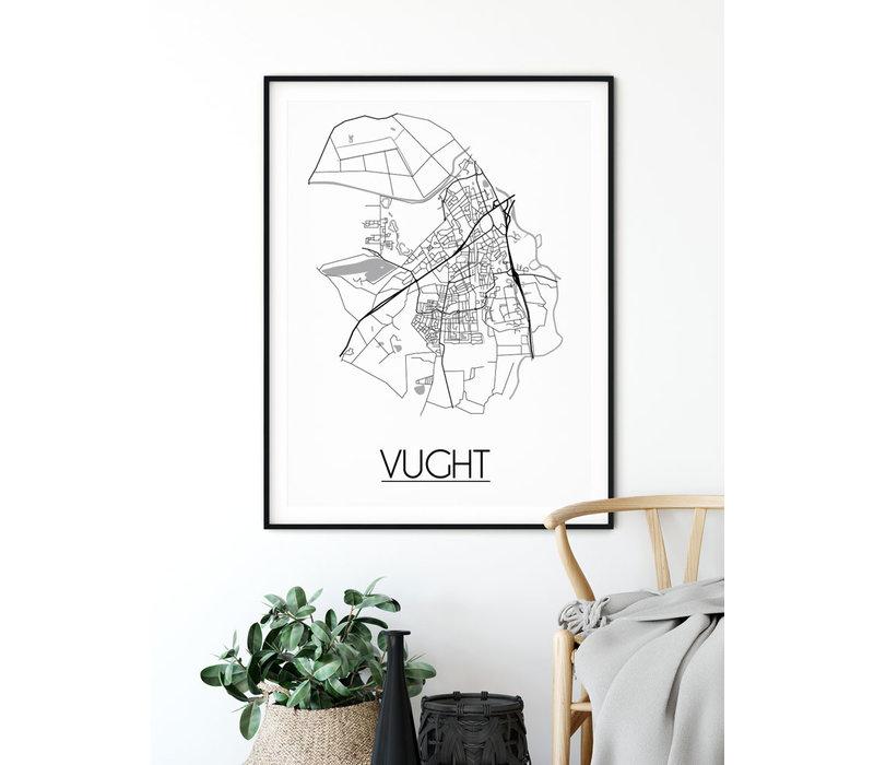 Vught Plattegrond poster
