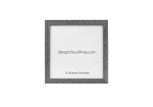 DesignClaud Houten wissellijst - Fotolijst - Houtkleurig  vergrijsd