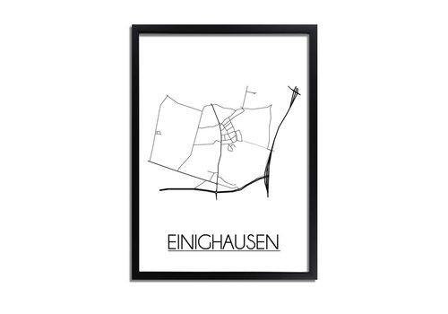 DesignClaud Einighausen Plattegrond poster